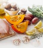 Balanced diet concept. Stock Images