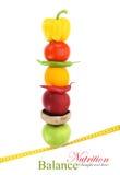 Balanced diet Stock Image