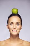 Balanced raw food diet Royalty Free Stock Photo