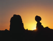 Balanced Rock, Royalty Free Stock Photos