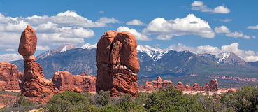 Balanced Rock Royalty Free Stock Image
