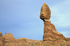 Balanced Rock Arches N.P. Utah Stock Image