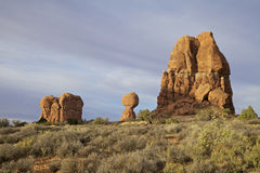 Balanced Rock  Arches N.P. Utah Stock Photo