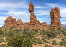 Balanced Rock in Arches National Park Stock Images