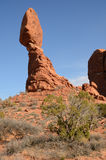 Balanced Rock in Arches National Park Royalty Free Stock Photography