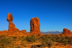 Balanced Rock Arches National Park royalty free stock photo