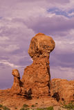 Balanced Rock Arches National Park Royalty Free Stock Photography