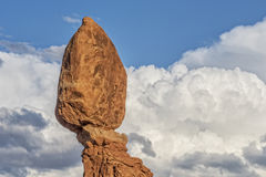 Balanced Rock At Arches National Park Stock Image
