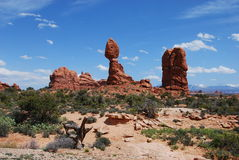 Balanced Rock. Stock Photography