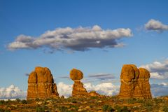 The Balanced Rock Royalty Free Stock Photo