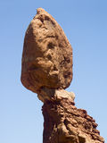 Balanced Rock Closeup, Arches National Park, Utah Stock Images