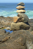 Balanced Rock Stack Stock Photo