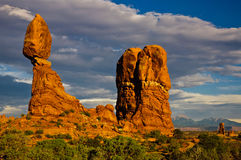 Balanced Rock Sunset Royalty Free Stock Image