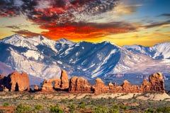 Balanced Rock Trail Stock Photography