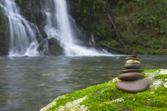 Balanced Rock Zen Stack Royalty Free Stock Image
