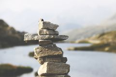 Balanced rocks Royalty Free Stock Photos
