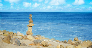 Balanced rocks Royalty Free Stock Photos