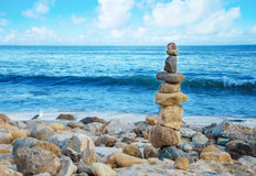 Balanced rocks Stock Images
