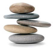 Balanced stone tower Royalty Free Stock Image