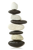Balanced stone tower Stock Photography