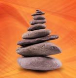Balanced Stone Tower Stock Image
