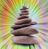 Balanced Stone Tower Royalty Free Stock Photography