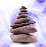 Balanced Stone Tower Stock Photos