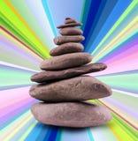 Balanced Stone Tower Stock Images