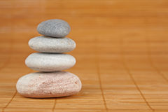 Balanced stones Royalty Free Stock Images