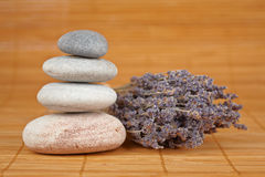 Balanced stones Stock Image