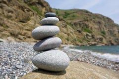 Balanced stones Royalty Free Stock Photos