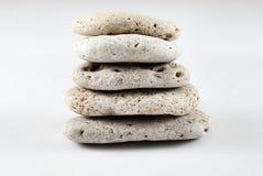 Balanced stones. Royalty Free Stock Images