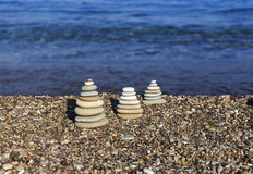 Balanced stones Royalty Free Stock Photography