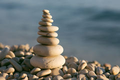 Balanced stones Stock Images