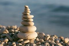 Balanced stones Stock Images