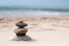 Balanced Zen Rocks Royalty Free Stock Image