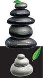 Balanced Zen stones Royalty Free Stock Images