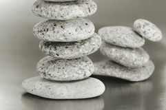 Balanced zen stones Royalty Free Stock Photo