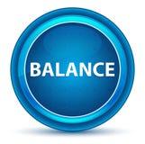 Balancen-Augapfel-blauer runder Knopf lizenzfreie abbildung