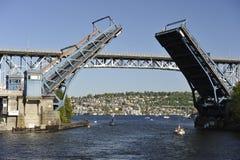 Balancen-Brücke, Seattle, USA stockfotografie