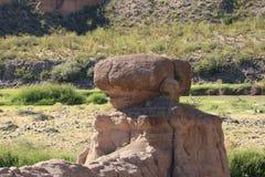 Balancen-Felsen Stockbild