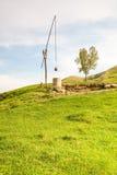 Balancen-Wasser-Brunnen Stockbilder