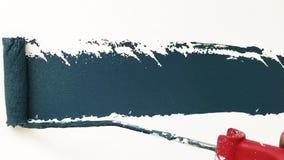 Balanceo azulverde real de las herramientas de la pintura de pared metrajes