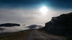 Balanceo de la niebla adentro Fotos de archivo