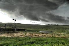 Balanceo de la tormenta adentro Foto de archivo libre de regalías