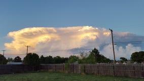 Balanceo de la tormenta adentro Fotografía de archivo