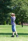 Balanceo del muchacho Imagen de archivo