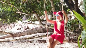 Balanceo tropical de la isla metrajes