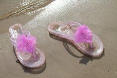 Balanceos rosados Imagenes de archivo
