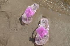 Balanceos rosados Imagen de archivo